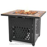 Blue Rhino GAD1429SP Endless Summer Fire Bowl Slate Tile Mantel