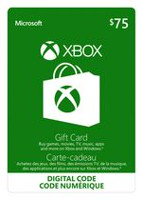 Xbox Live Gift Card $75 CAD Digital Download