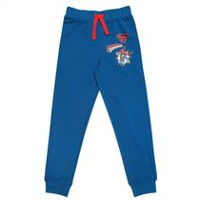 Superman Boys' French Terry  Jogger Pant M