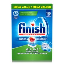 Finish® Powerball All in 1 Fresh Scent Dishwasher Detergent