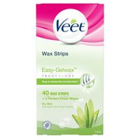 Veet® Easy Grip Dry Skin Wax Strips Value Size
