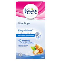 Veet® Easy Grip Sensitive Formula Wax Strips