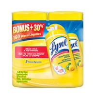 Lysol® Citrus Disinfectant Wipes Value Pack