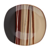 hometrends Bazaar Brown Dinner Plate