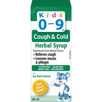 Kids 0-9 Cough & Cold Herbal Syrup