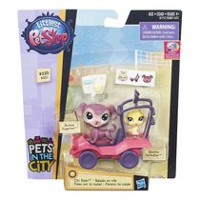 Littlest Pet Shop City Rides Toy