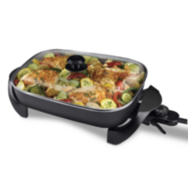 "B&D Large Electric Skillet 12"" x 15"""