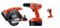 18V Cordless Drill, Circular Saw, and Light Combo Kit
