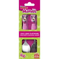 Minnie Bowtique 2-Pc Flatware Set