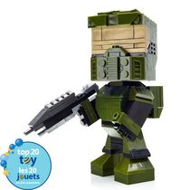 Mega Bloks Kubros Halo Master Chief Buildable Figure