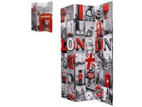 Brassex Double Sided London Print Room Dividers