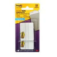 Onglets de classement 686-24WE-C Post-it®, 5,8 mm x 38 mm (2 x 1,5 po)
