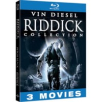 Riddick Blu-ray Collection (Unrated): Pitch Black / The Chronicles Of Riddick / The Chronicles Of Riddick: Dark Fury (Animated) (Blu-ray)