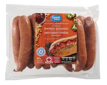 Great Value Cheese Smoked Sausages Fully Cooked