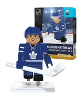 Minifigurine OYO Sportstoys Auston Matthews de Toronto Maple Leafs