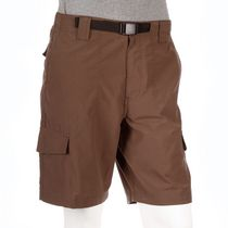 George Men's Belted Cargo Shorts Gray 32