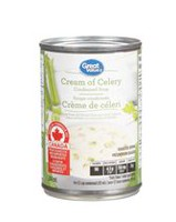 Great Value Cream of Celery Condensed Soup
