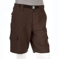 George Men's Belted Cargo Shorts Gray 50