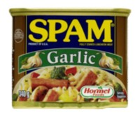SPAM garlic