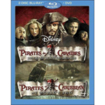 Pirates Of The Caribbean: At World's End (3-Disc) (2-Disc Blu-ray + DVD)