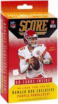 2021 Panini Score NFL Football Trading Cards Hanger Box - 1 Points exclusifs Rouge numéroté parallèle par boîte