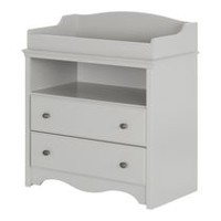 South Shore Angel Collection Changing Table Soft Gray