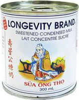 Longevity Brand Sweetened Condensed Milk