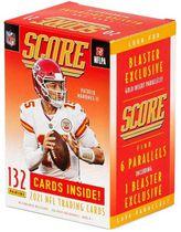 Panini Score 2021 NFL Football Trading Cards Blaster Box - 1 parallèle numéroté de lave exclusif