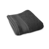 hometrends Solid Wash Towel Dark Grey