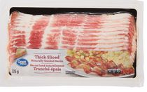 Great Value Thick Sliced Naturally Smoked Bacon