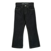 George Boys' Dark Wash Boot Cut Jeans 8