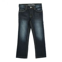 George Boys' Straight Fit Jeans Dark Blue 6