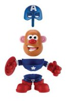 Playskool Mr. Potato Head Marvel - Héros à mélanger Captain America