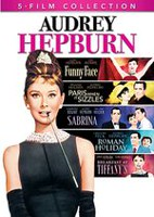 Audrey Hepburn 5-Film Collection : Breakfast at Tiffany's / Roman Holiday / Sabrina (1954) / Funny Face / Paris When it Sizzles (Bilingue)