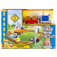 PAW Patrol Adventure Bay Railway Track Set with Exclusive Vehicle