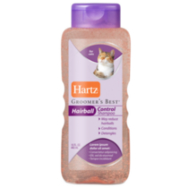 Hartz Groomer's Best Hairball Control Shampoo for Cats