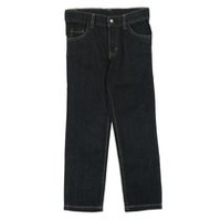 George Toddler Boys' Slim Fit Denim Pants Dark Black 4T