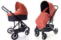 StrollAir CosmoS Single Stroller Red
