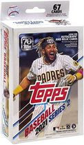 2021 Topps Series 2 Baseball Trading Cards Hanger Pack- 2 Cartes d'insertion exclusives au détail | 2 cartes Walmart Exclusive Base Parallel