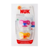 NUK Fashion Pacifier Sz2 2Pk