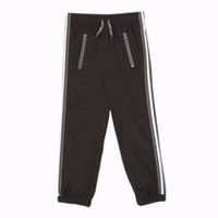 Athletic Works Boys' Woven Jogger Black S/P