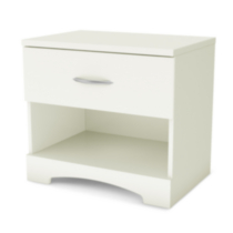 Table de chevet South Shore, collection SoHo Blanc