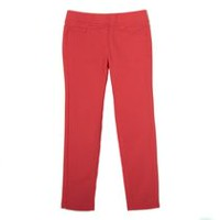 George Girls' Woven Jegging Coral 14