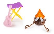 Barbie Camping Fun Campfire Playset