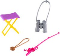 Barbie Camping Fun Fishing Playset