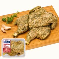Maple Leaf Prime Seasoned Whole Classic Flattened Chicken