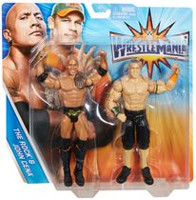 WWE WrestleMania – Coffret de 2 – The Rock et John Cena