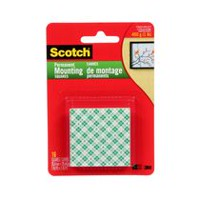 Scotch® Lightweight Mounting Reusable Tabs