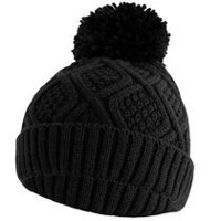 Hot Paws Women's Knit Tuque Black