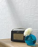 Graham & Brown Squares Paintable Wallpaper